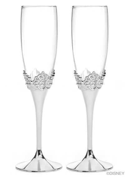 Disney Personalized Ever After Toasting Flutes DBK20776P