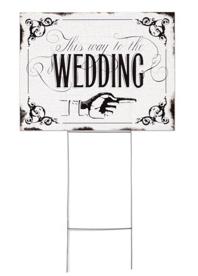 Vintage Wedding Sign DBK20780