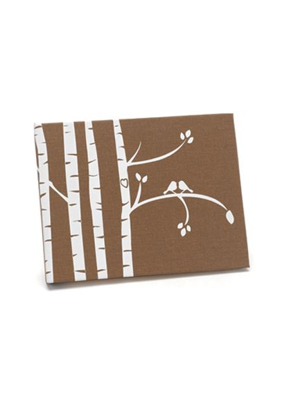 Birch Trees Guest Book DBK20807B