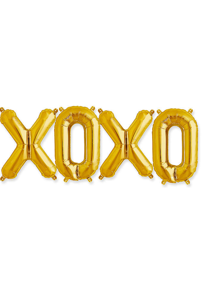 XOXO 16 Inch Balloon Kit - XOXO, a fun and light-hearted sentiment for any