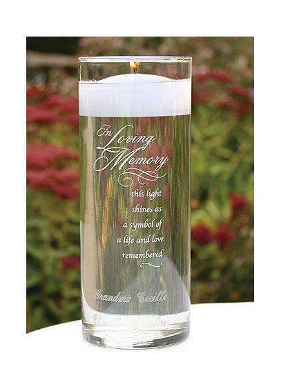 Personalized In Loving Memory Cylinder DBK22910P
