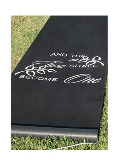 Two Shall Become One Aisle Runner DBK30046