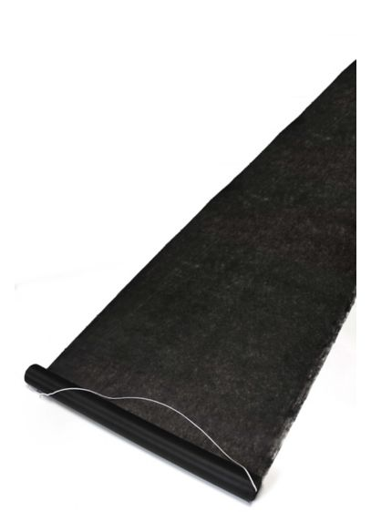 Black Aisle Runner - Wedding Gifts & Decorations