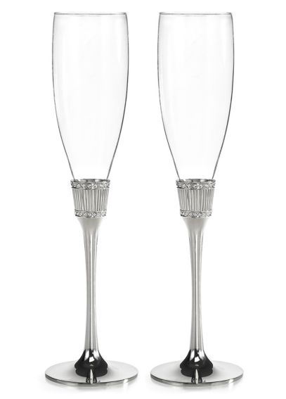Personalized Romanesque Toasting Flute Set DBK33295P