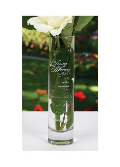 Personalized In Loving Memory Bud Vase DBK33550P