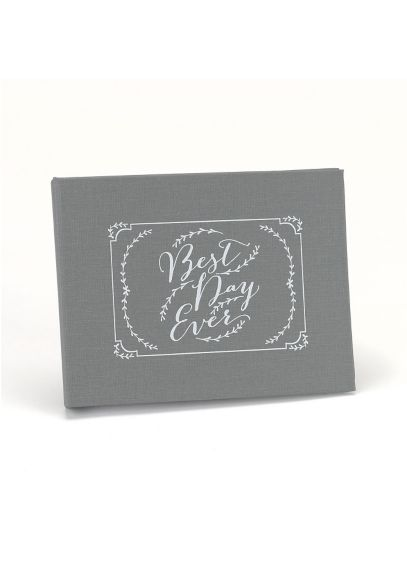 Rustic Vines Best Day Ever Guest Book DBK38577B