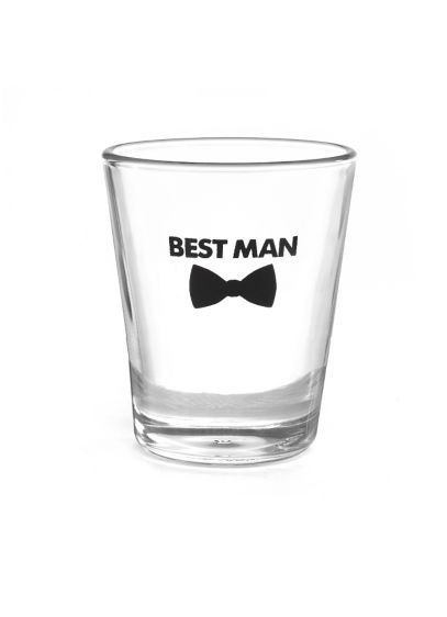 Best Man Bow Tie Wedding Party Shot Glasses - Wedding Gifts & Decorations