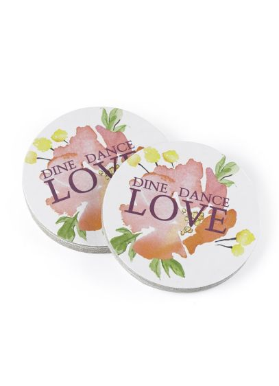 (Forever Floral Coasters Pack of 25)