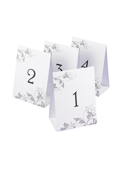 Table Number Tents Set of 40 DBK51642