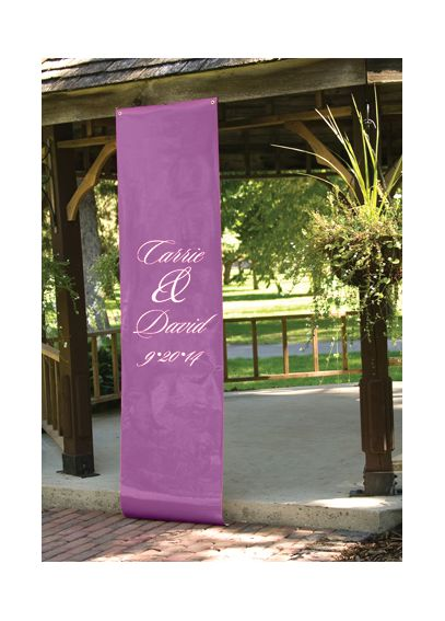 Personalized Names and Date Banner DBKX1041P