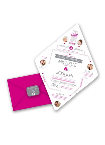 Story of Romance Invitation Sample - Wedding Gifts & Decorations