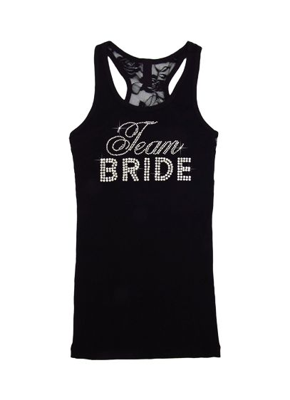 (DB Exclusive Team Bride Lace Racerback Tank)