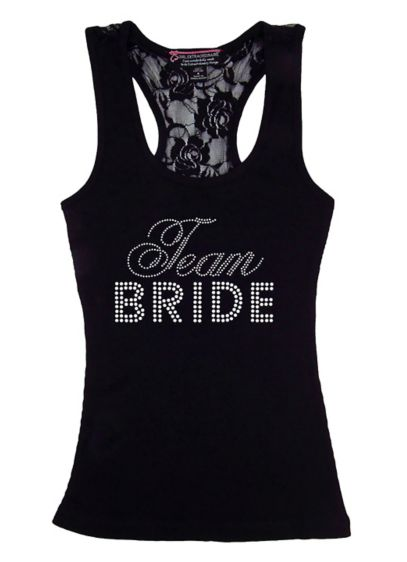 DB Exclusive Lace Team Bride Racerback Tank - Wedding Gifts & Decorations