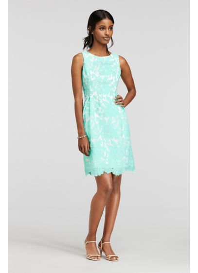 Short A-Line Tank Cocktail and Party Dress - Donna Rico