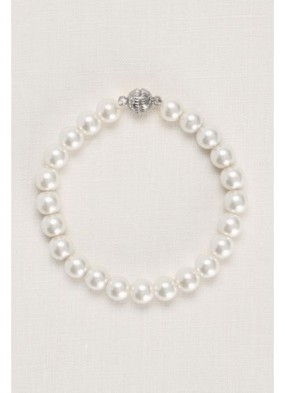 Pearl Bracelet with Magnetic Closure - Wedding Accessories