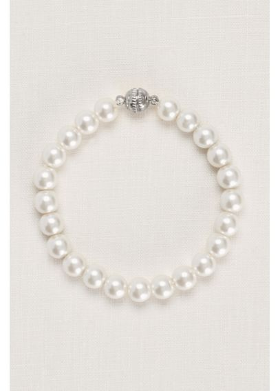 Pearl Bracelet with Magnetic Closure DU10091B