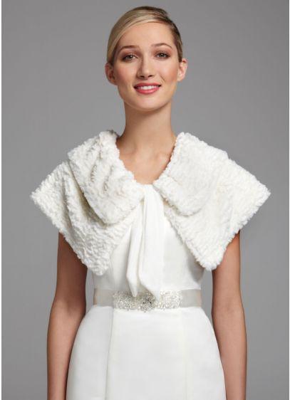Novelty Fur Cape - Wedding Accessories