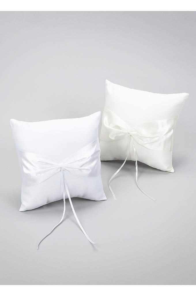 Design your own Ring Pillow - Create our own personal look by adding embellishments,