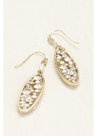 Crystal Filled Earrings E1971