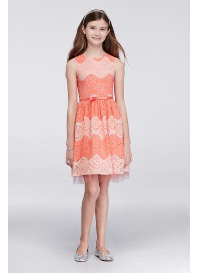Short Pink Soft & Flowy Speechless Bridesmaid Dress