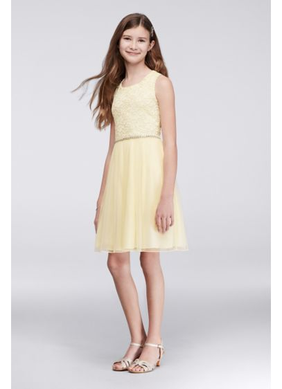 Short Yellow Soft & Flowy Speechless Bridesmaid Dress