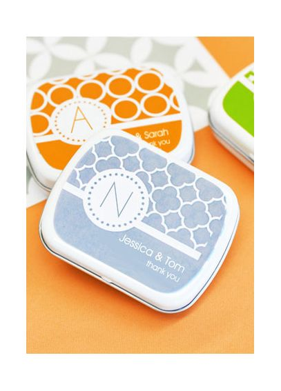 Personalized MOD Pattern Monogram Mint Tins EB1049MDM