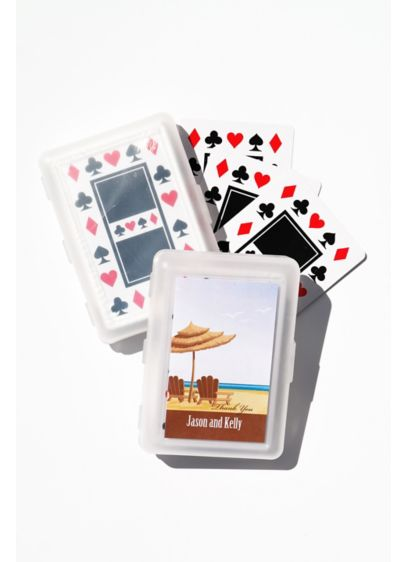 Elite Design Personalized Playing Cards - Wedding Gifts & Decorations