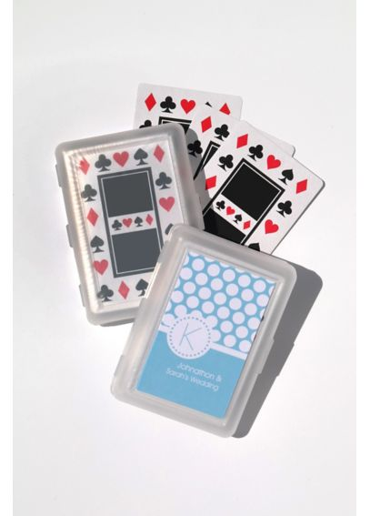 Personalized MOD Pattern Monogram Playing Cards EB2033MDM