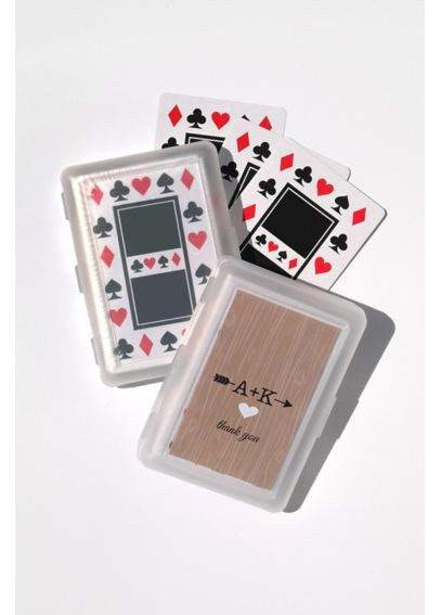 Personalized Initials Vintage Playing Cards EB2033WVinitial