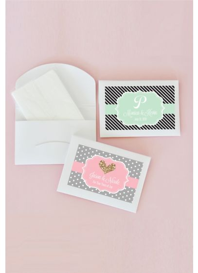 Personalized Theme Tissue Packs - Wedding Gifts & Decorations