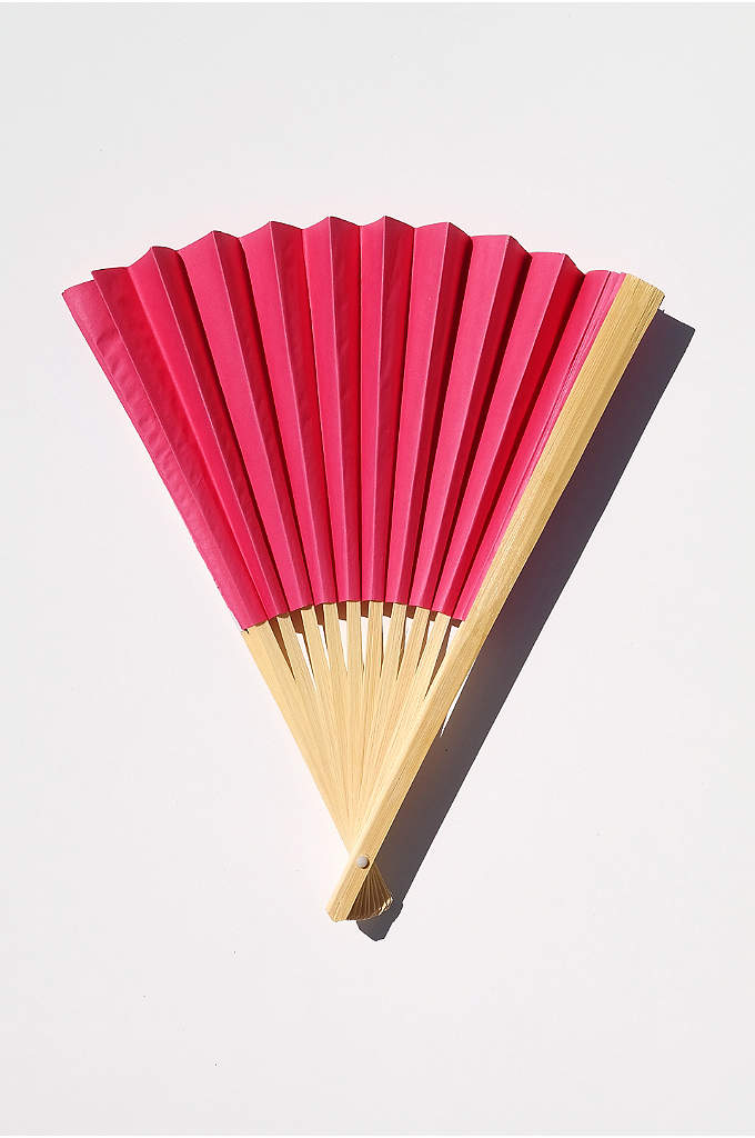 Colored Paper Fans - These beautiful Colored Paper Fans will help you