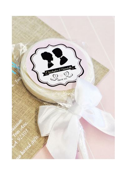Personalized Vintage Wedding Lollipop Favors - Wedding Gifts & Decorations