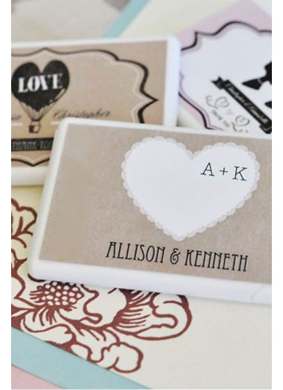 Personalized Vintage Wedding Mini Mint Favors - Wedding Gifts & Decorations