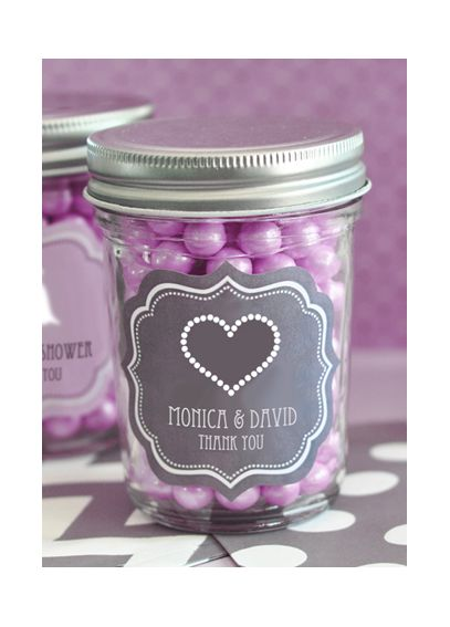 Personalized Theme Mini Mason Jars EB2310T