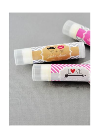 Personalized Theme Lip Balm Tubes - Wedding Gifts & Decorations