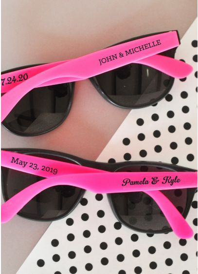 Personalized Wedding Sunglasses - Wedding Gifts & Decorations