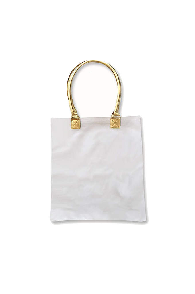 Gold Bridal Party Canvas Tote Bags - Use these Gold Bridal Party Canvas Tote Bags