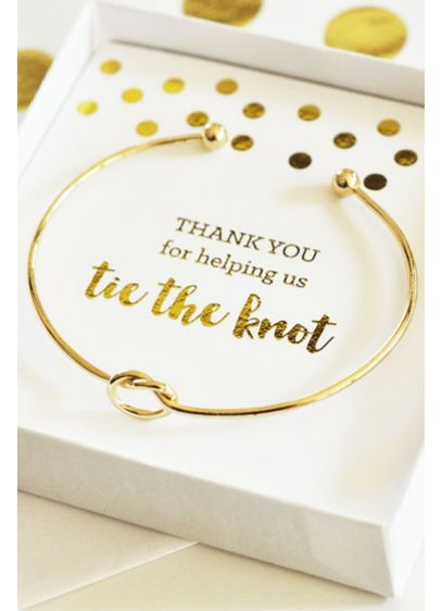 Tie the Knot Bracelet - Wedding Gifts & Decorations