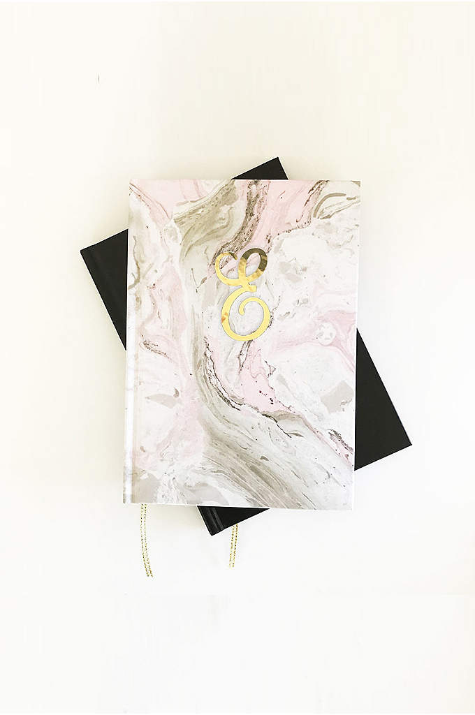 Personalized Pink Marble Monogram Journal - Write a special note in this Personalized Pink