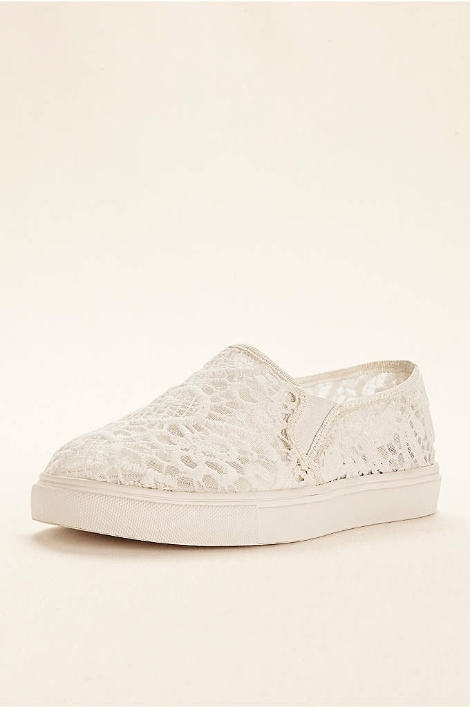 Steve Madden Bridal Lace Slip On Sneaker - Dance the night away in comfort and style