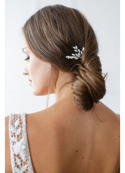 Freshwater Pearl Spray Hairpin - Wedding Accessories