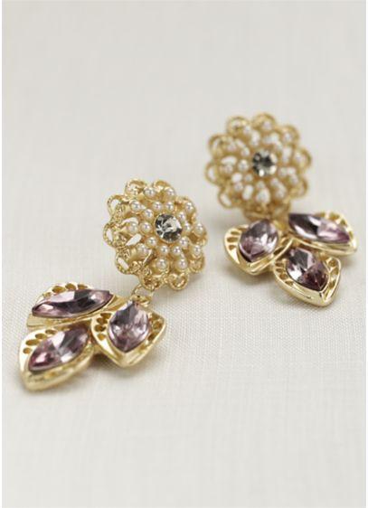 Dangling Leaves Earrings - Wedding Accessories