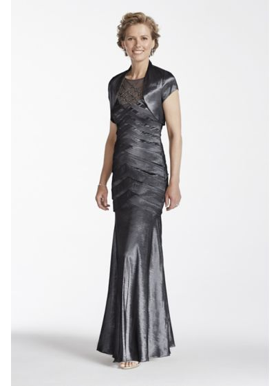 Long Mermaid/ Trumpet Jacket Formal Dresses Dress - Emma Street