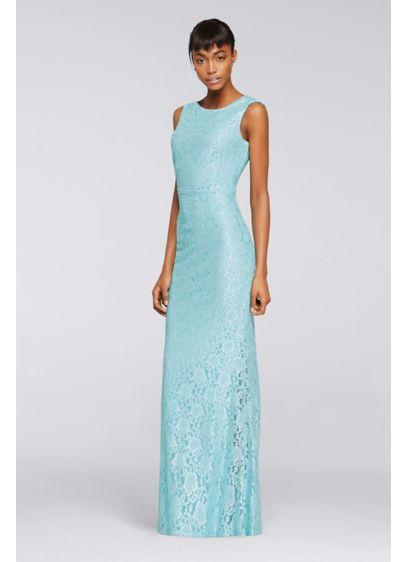Long Green Soft & Flowy Jessica Howard Bridesmaid Dress