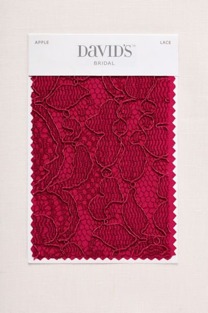 Apple Fabric Swatch David S Bridal