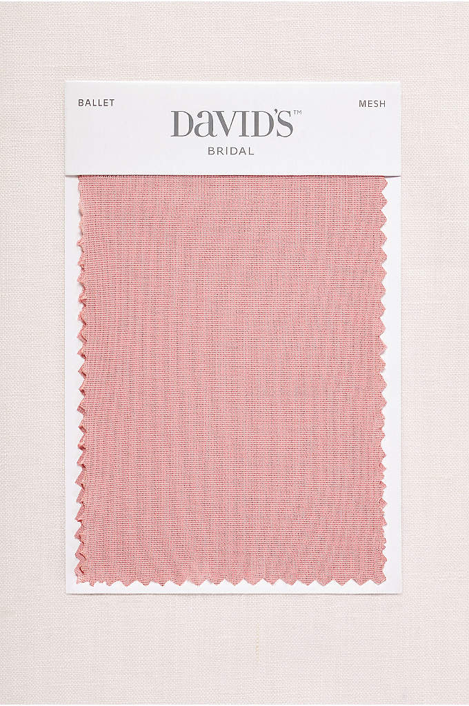 Ballet Fabric Swatch - Available in all of David's Bridal's exclusive colors,