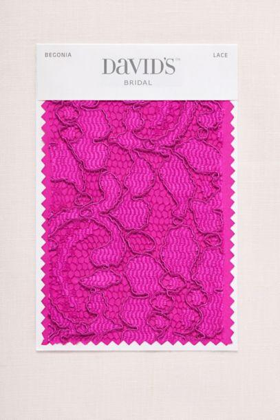 Begonia Fabric Swatch Davids Bridal