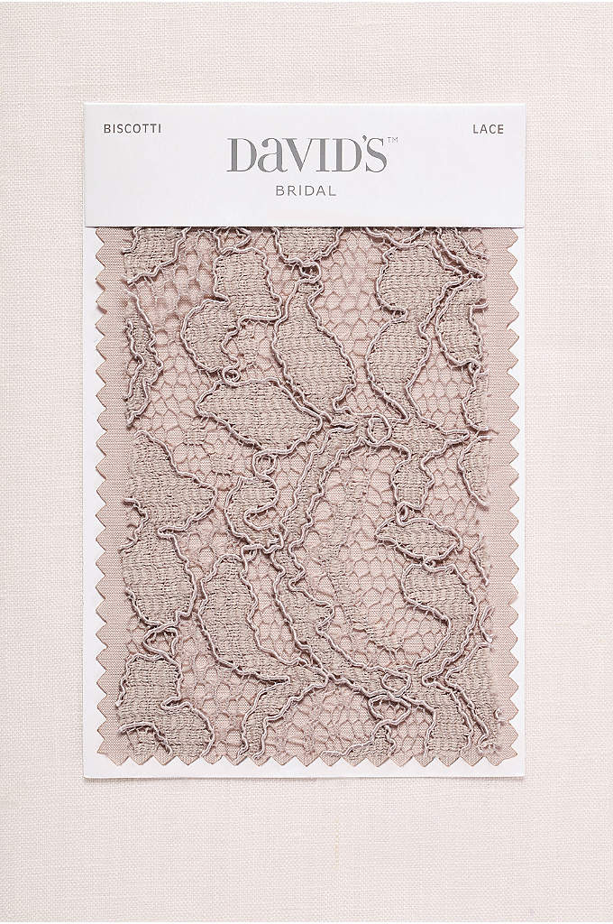 Biscotti Fabric Swatch - Available in all of David's Bridal's exclusive colors,