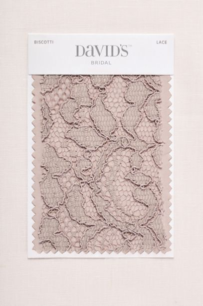 Biscotti Fabric Swatch | David's Bridal