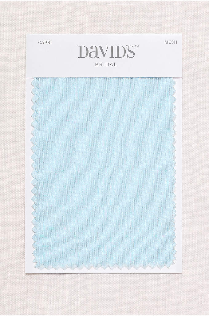 Capri Fabric Swatch - Available in all of David's Bridal's exclusive colors,